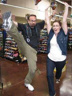 Extreme Couponing All Stars - Jen Morris & crazy crew