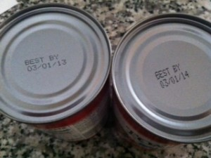 expiration dates on cans