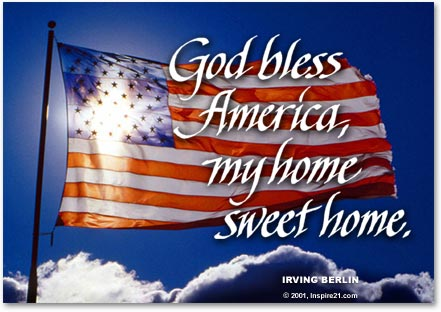 Image result for god bless you america