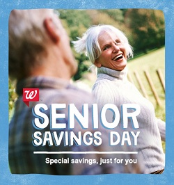 walgreens senior discount
