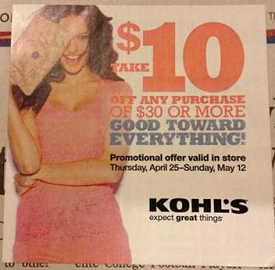 kohls $10 coupon