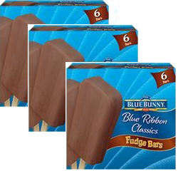 blue bunny fudge bars