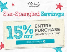 michaels 15off coupon