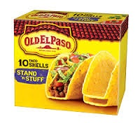 old elpaso taco shells