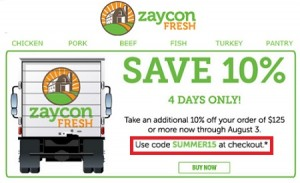 zaycon coupon code sale